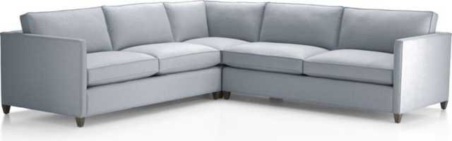 Dryden 3-Piece Sectional - Crate and Barrel