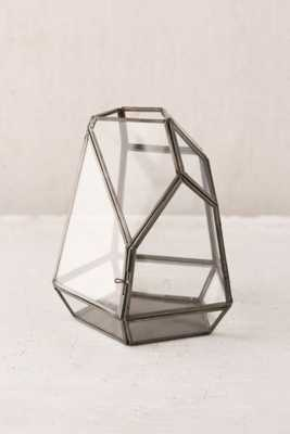 Magical Thinking Faceted Glass Terrarium-Grey - Urban Outfitters