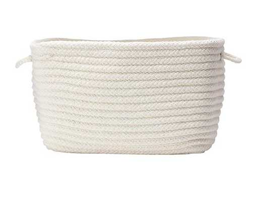 "MARTHA STEWART LIVINGâ""¢ CRAFT SPACE BASKET-SMALL WHITE - Home Decorators"