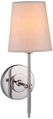 Baldwin Polished Nickel 1-Light Wall Sconce - Lamps Plus