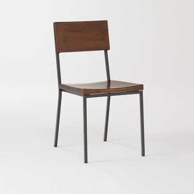 Rustic Dining Chair, Acacia - Individual - West Elm
