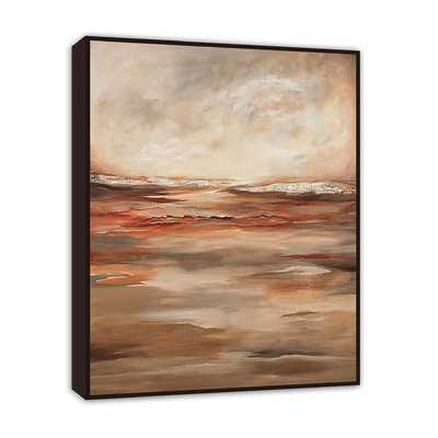 Abstract Landscape inverse by Michelle Hinz Framed Painting Printby PTM Images - Wayfair