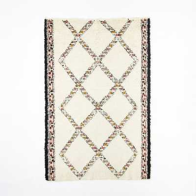 Taza Wool Shag Rug - West Elm