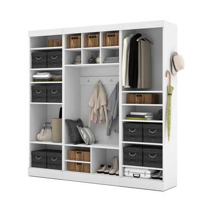 Pur by Bestar 86-inch Mudroom Kit - Overstock
