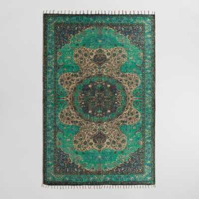 Blue Jute Soha Area Rug - World Market/Cost Plus
