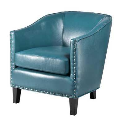 Fremont Arm Chair - Blue - AllModern