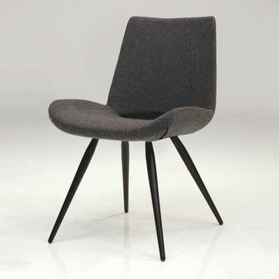 Willam Side Chair-Cashmere - Dark Grey-Set of 2 - AllModern