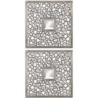 Uttermost Colusa Metal Framed Squares - Overstock