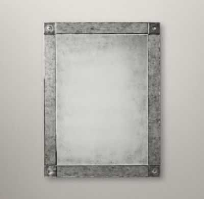 PALAZZO ANTIQUED-GLASS MIRROR - RH