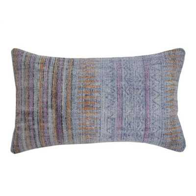 Overdyed Pillow - 20x14 - With Insert - Domino