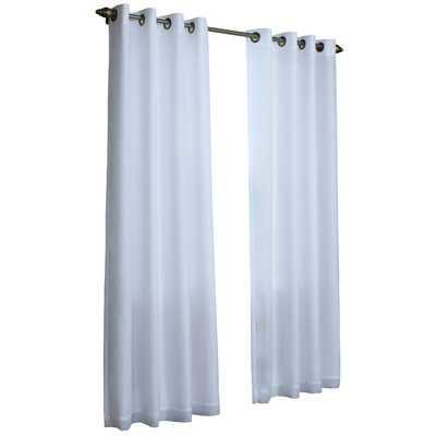 "Thermavoile Lined Grommet Single Curtain Panel 84"" - Wayfair"