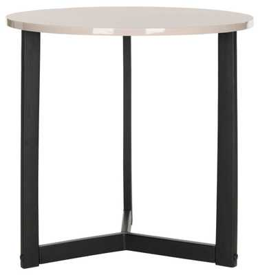 Ballard Lacquer End Table - Tressle