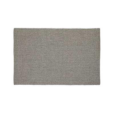Jasper Taupe Wool-Blend 6'x9' Rug - Crate and Barrel