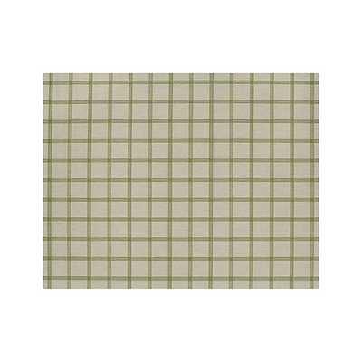 Koen Grid Green Indoor-Outdoor  Rug - Crate and Barrel