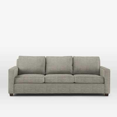 "Henry® 96"" Sofa - Heathered Tweed - Cement - West Elm"