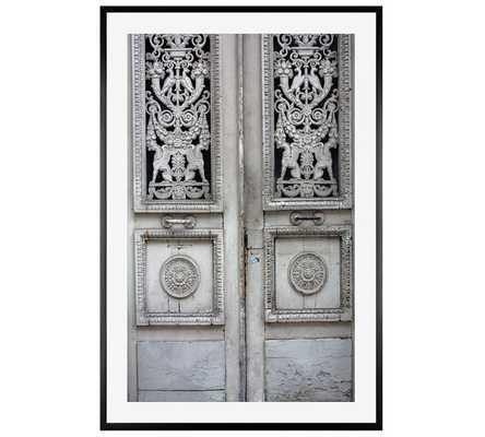 Rustic Grey Door - Pottery Barn