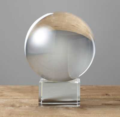 "CRYSTAL SPHERE ON STAND - 5"" - RH"