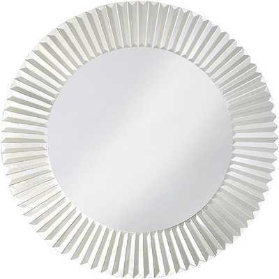Turin Mirrored Glass Mirror - Overstock