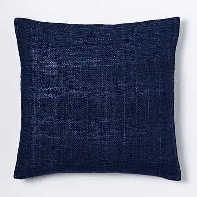 Silk Hand-Loomed Pillow Cover - 20x20, No Insert - West Elm