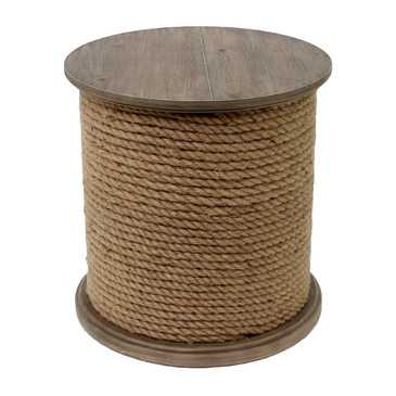 Baytowne Rope Accent Table - Houzz