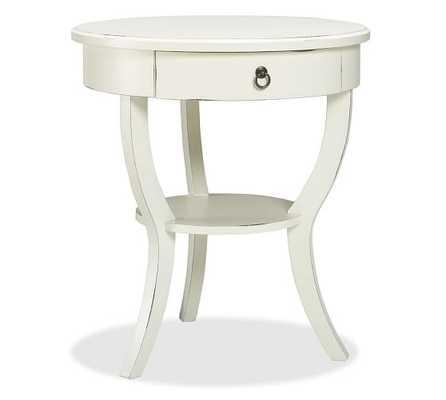 Carrie Pedestal Bedside Table - Pottery Barn