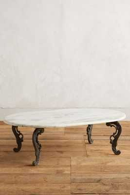 Dovemont Coffee Table - Dark Grey - Anthropologie