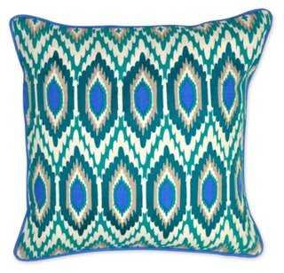 Bold Linen Pillow - One Kings Lane