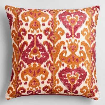 "Taza Throw Pillow - 18""Sq. - World Market/Cost Plus"