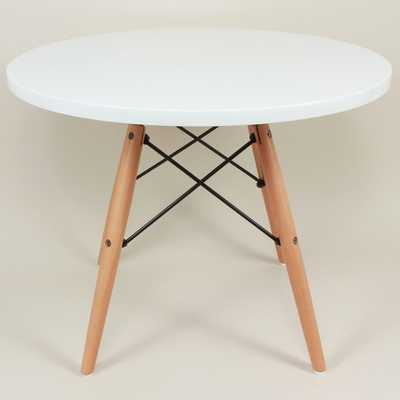 Hans Andersen Home Agnes White Round Table - Overstock