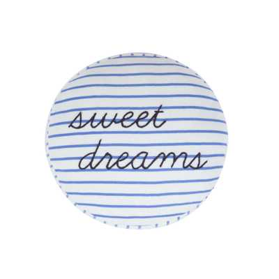 Dreams Round Pillow - no insert - Giggle