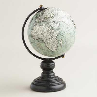Mini Gray Globe on Stand - World Market/Cost Plus