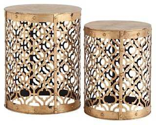 Corina Side Tables, Set of 2 - One Kings Lane