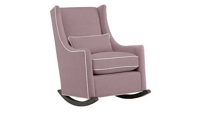 Quincy Rocking Chair (Dee Dee Lilac) - Land of Nod