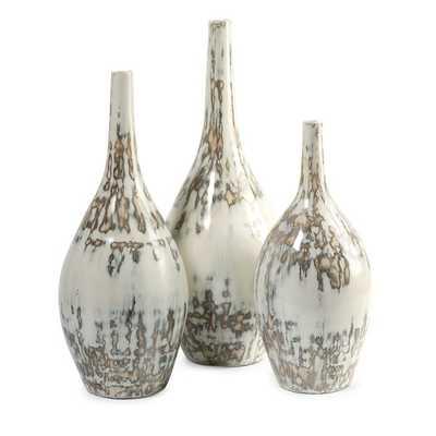 Hampton Mexican Pottery Vases (3 Piece) - AllModern