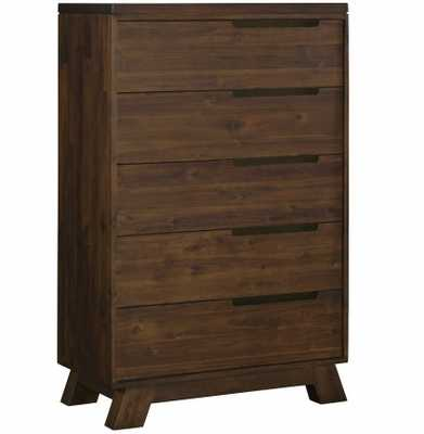 Fairfax 5 Drawer Chest WALNUT - Apt2B