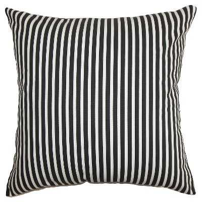 The Pillow Collection Ticking Stripe Decorative Pillow - Target