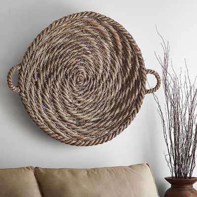 Gray Wash Basket Wall Art - Pottery Barn