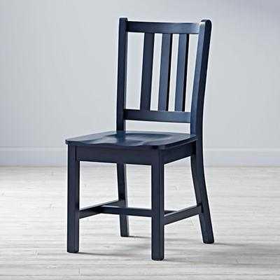 Parker Desk Chair (Midnight Blue) - Land of Nod