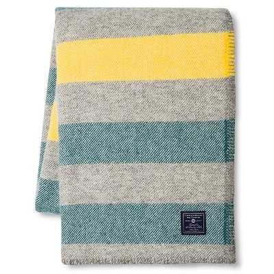 Faribault for Target Stripe Wool Throw - Target