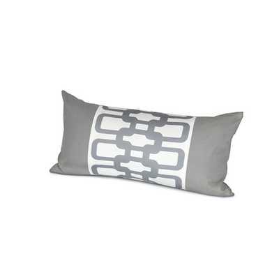 Link Cotton Lumbar Pillow - 12x24, With Insert - AllModern