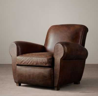 PARISIAN LEATHER CHAIR - RH