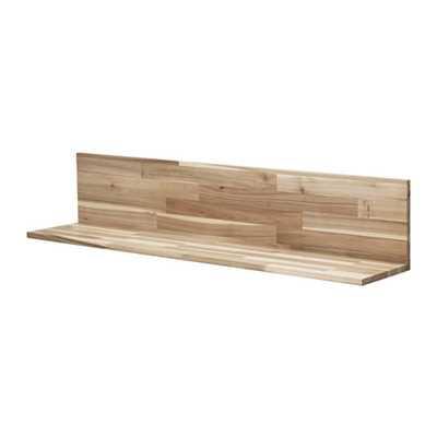 SKOGSTA Wall shelf, acacia - Ikea