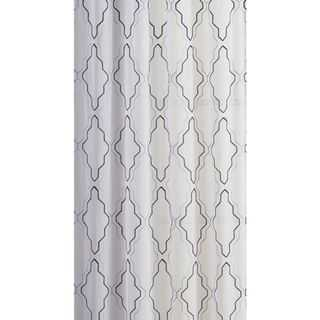 OVERSTOCK EXCLUSIVE VCNY Dixon Embroidered Sheer Curtain Panel Pair - Overstock