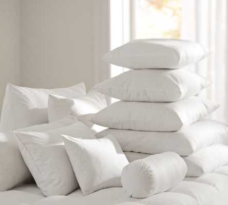 "Synthetic Fill Lumbar Pillow Insert, 12 x 24"" - Pottery Barn"