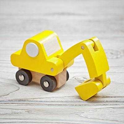 Toy Vehicle (Digger) - Land of Nod