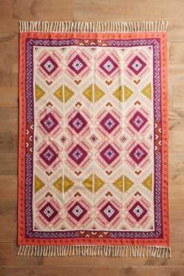 Kaleidoscopic Blooms Rug - 8' x 10' - Anthropologie