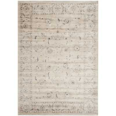 Safavieh Vintage Light Grey Floral Rug - Wayfair