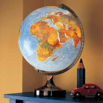 Illuminated World Lamp - Land of Nod