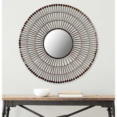 Safavieh New Victoria Coffee Bronze Mirror - Overstock