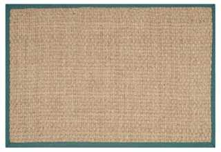 6'x9' Malcom Sea-Grass Rug - One Kings Lane